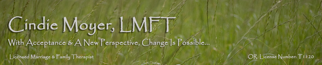 Cindie Moyer LMFT Change is Possible